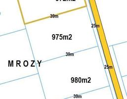 Morizon WP ogłoszenia | Działka na sprzedaż, Mrozy Pokoju, 1000 m² | 0117