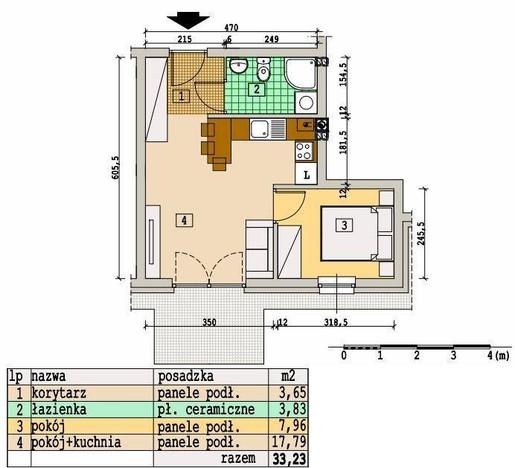 Morizon WP ogłoszenia | Mieszkanie na sprzedaż, Rzeszów Słocina, 33 m² | 5823