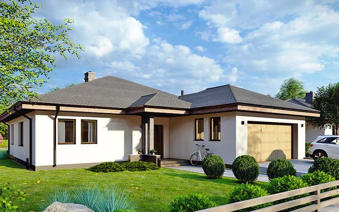 Morizon WP ogłoszenia | Dom w inwestycji Osiedle Rozalin, Lusówko, 176 m² | 1993