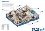 Morizon WP ogłoszenia | Mieszkanie na sprzedaż, Warszawa Białołęka, 57 m² | 3521