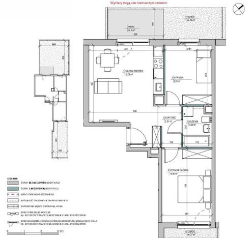 Morizon WP ogłoszenia   Mieszkanie na sprzedaż, Warszawa Białołęka, 52 m²   5645