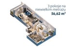 Morizon WP ogłoszenia | Mieszkanie na sprzedaż, Warszawa Bemowo, 57 m² | 8191