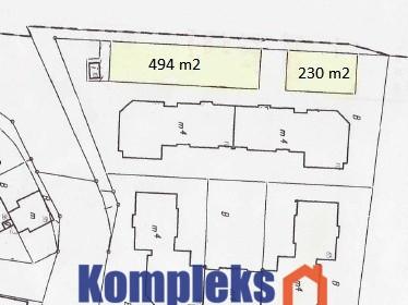 Działka na sprzedaż 724 m² Szczecin Os. Majowe - zdjęcie 1