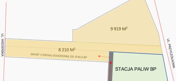 Działka na sprzedaż 9919 m² Warszawa Wilanów Powsin Przyczółkowa - zdjęcie 3