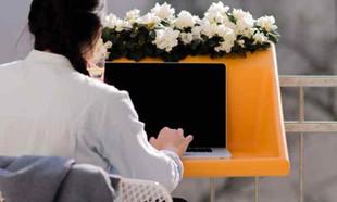 BalKonzept – stolik na laptop, czyli biuro na balkonie!