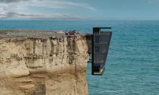 Dom na klifie – australijski pomysł na mieszkanie nad wodą