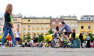 Rowerowy ranking miast 2018: Kraków na 7. miejscu. Najbardziej niebezpieczne miasto w Polsce?